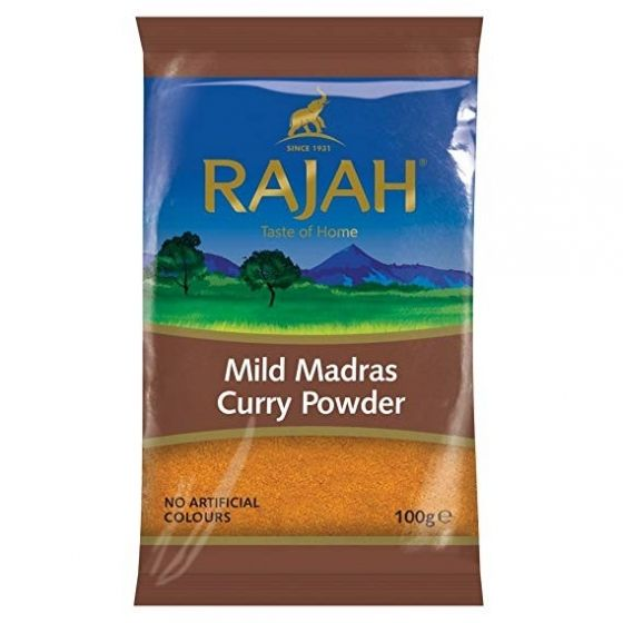 Curry doux Madras Rajah 100g