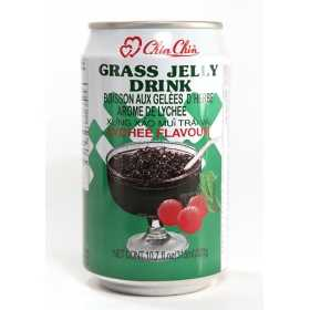 chinchin grass jelly drink lychee 178188