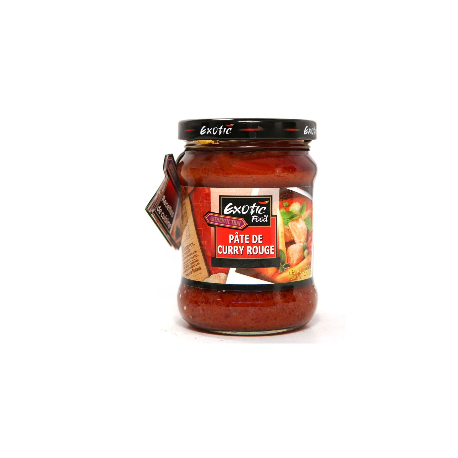 bocal pâte curry rouge 122102