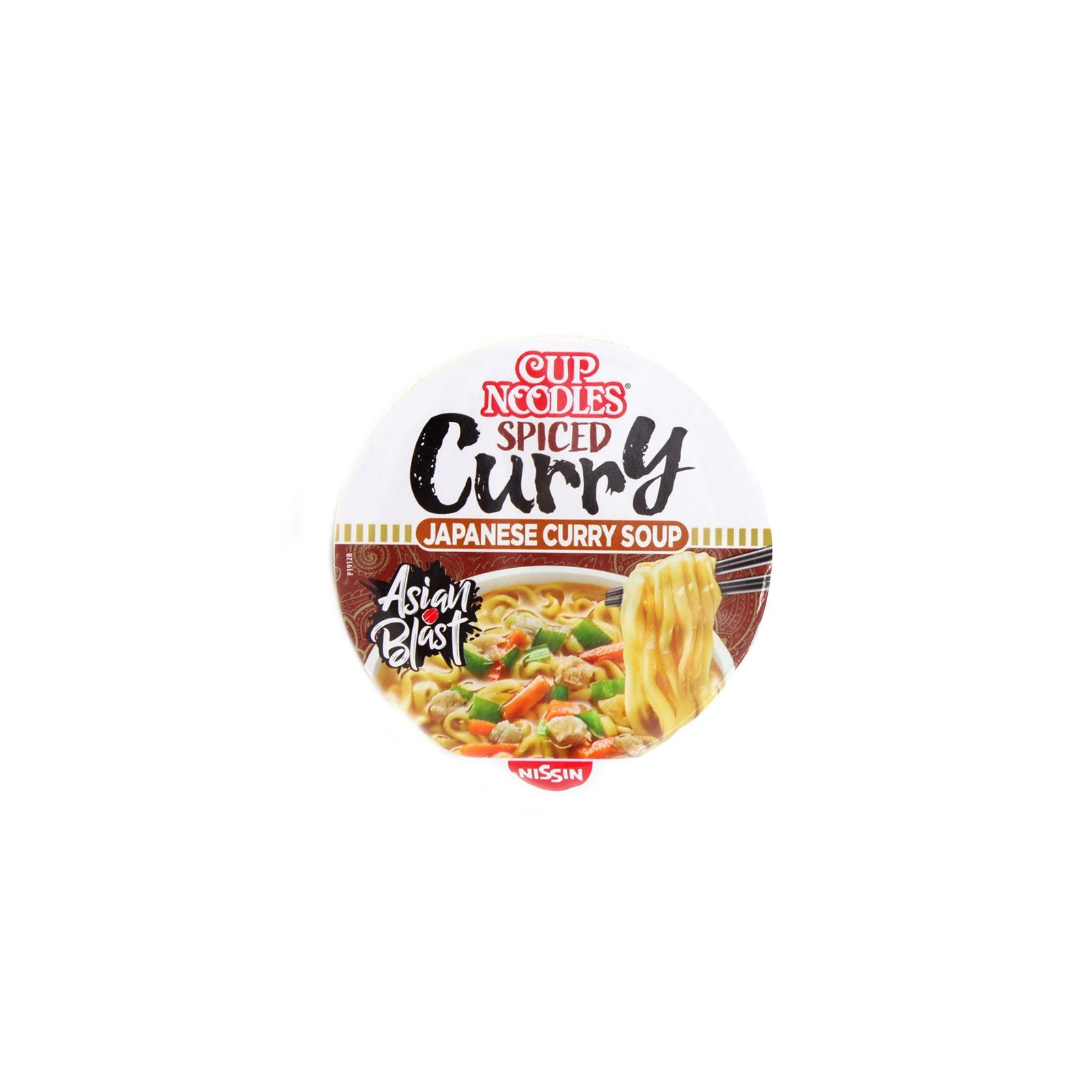Cup noodle curry